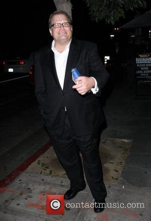 Drew Carey leaving The Edison club after attending Joe Walsh's wedding after party Los Angeles, California - 12.12.08