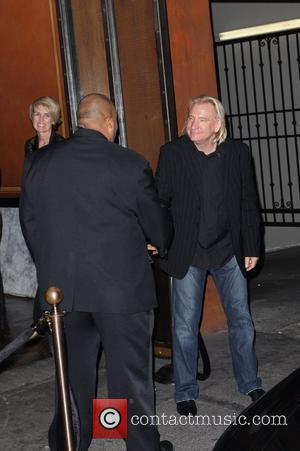 Joe Walsh leaving The Edison club after having his wedding after party Los Angeles, California - 12.12.08