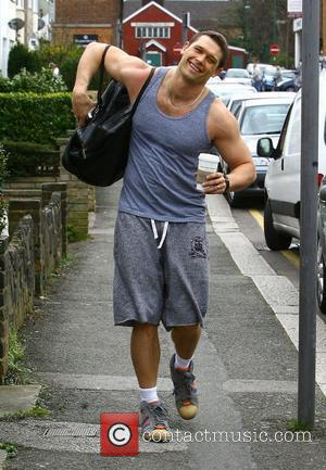 'EastEnders' actor John Partridge returning to work after visiting a local gym Hertfordshire, England - 31.03.09