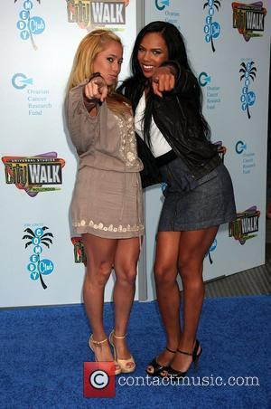 Sabrina Bryan and Kiely Williams
