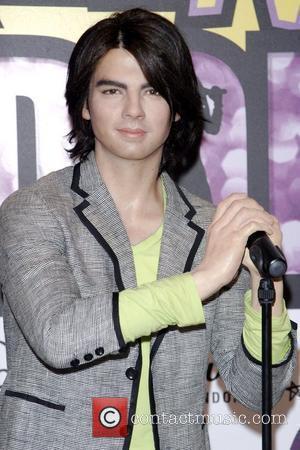 Joe Jonas Madame Tussauds London unveils waxworks of the Jonas Brothers that are on loan from Madame Tussauds New York...
