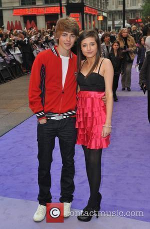 Madeline Duggan and Thomas Law Jonas Brothers In 3D - UK film premiere held at the Empire Leicester Square. London,...