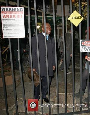 Chris Eubank arriving at Jonathan Ross's Halloween Party. London, England - 31.10.08