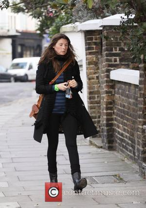 A pregnant Jools Oliver arrives back at her house Jools who is married to The Naked Chef, Jamie Oliver, is...