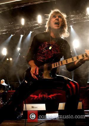 Glenn Tipton of Judas Priest performing at the Manchester Apollo  Manchester, England - 17.02.09