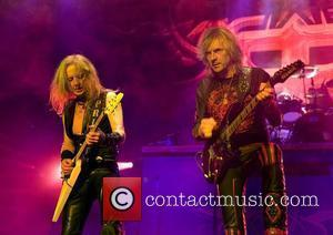 K.K. Downing and Glenn Tipton of Judas Priest  performing at the Manchester Apollo  Manchester, England - 17.02.09