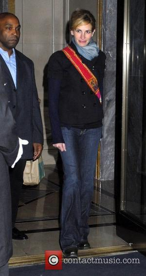 Julia Roberts and Manhattan Hotel