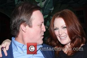 Patrick McMullan and Julianne Moore