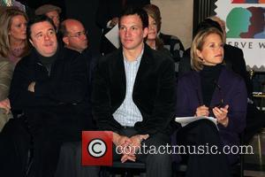 Nathan Lane and Katie Couric at the New York City Supreme Court for Jury Appreciation Day New York City, USA...