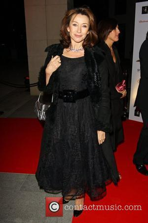 Cherie Lunghi attends a party for the launch of the new Karen Hardy dance Studio The Boulevard, Imperial Wharf London,...