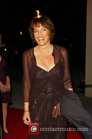 Esther Rantzen attends a party for the launch of the new Karen Hardy dance Studio The Boulevard, Imperial Wharf London,...