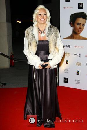 Kristina Rihanoff attends a party for the launch of the new Karen Hardy dance Studio The Boulevard, Imperial Wharf London,...