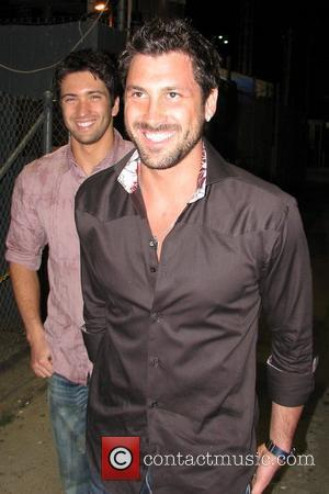 Maksim Chmerkovskiy and Jimmy Kimmel