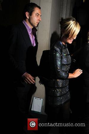 Kate Moss and David Walliams
