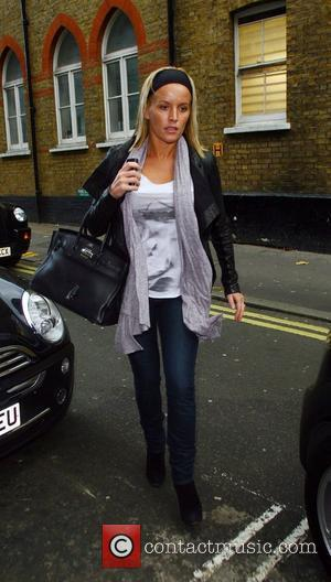 Davinia Taylor arrives at the Ivy London, England - 28.10.08