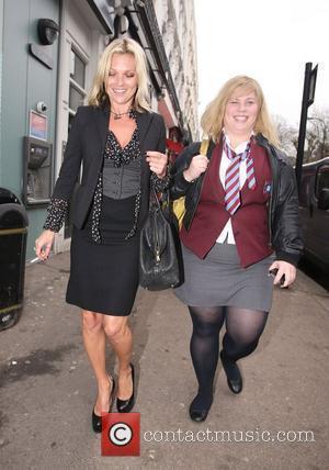 Kate Moss and Katy Brand