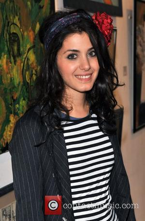 Katie Melua Georgian Art Exhibition held at The Chambers Gallery. London, England - 27.03.09