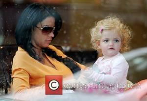 Katie Price and Daughter Princess Tiaamii