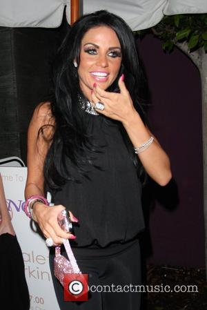 Katie Price aka Jordan leaving Nobu restaurant with friends in Hollywood  Los Angeles, California - 13.02.09