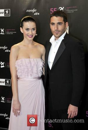 Katy Perry and Miguel Angel Silvestre