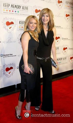 Hilary Duff and Leeza Gibbons