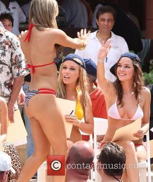 Kendra Wilkinson and Brittany Binger 'The Girls Next Door' star Kendra Wilkinson is the lead judge for the swimsuit segment...
