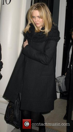 Sophie Dahl leaving a private party, held at the home of Kid Rock, at 3.30am London, England - 05.12.08