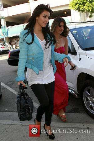 Kim Kardashian and Brittny Gastineau go on a shopping spree at Harmony Lane