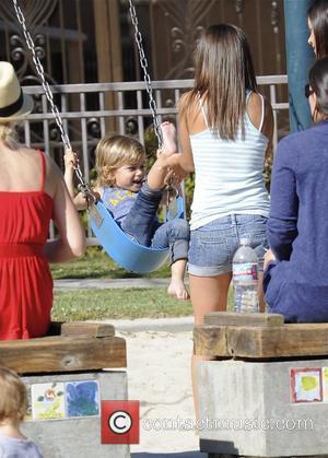 Kingston Rossdale, Gavin Rossdale and Gwen Stefani