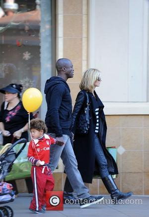 Heidi Klum and Husband Seal With Their Son Johan