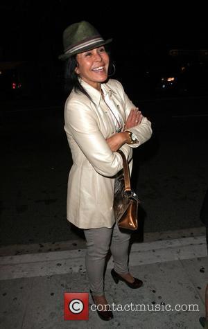 Maria Conchita leaving Koi Los Angeles, California - 14.04.09