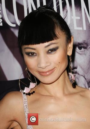 Bai Ling and Mickey Rourke