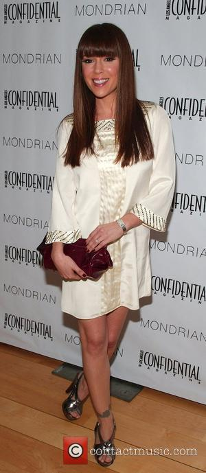 Alyssa Milano Los Angeles Confidential Magazine's Annual Golden Globe Party held at the Skybar at the Mondrian Hotel Los Angeles,...
