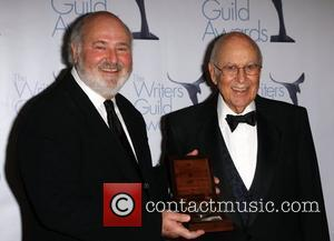 Rob Reiner and Carl Reiner Los Angeles ceremony of the 61st Annual Writers Guild Awards held at The Hyatt Regency...