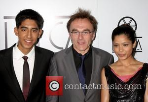 Dev Patel, Danny Boylle and Freida Pinto