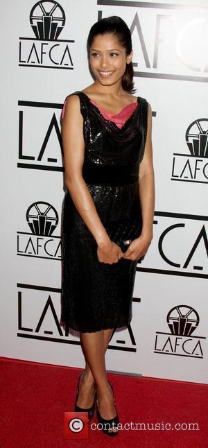 Freida Pinto Los Angeles Film Critics Association Dinner at the InterContinental in Century City. Los Angeles, California, USA - 12.01.09