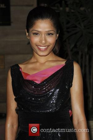 Freida Pinto Los Angeles Film Critics Association Dinner at the InterContinental in Century City. Los Angeles, California, USA - 12.01.09