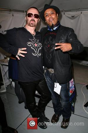 Dave Stewart and Ramses Mercedes-Benz LA Fashion Week Spring 2009 at Smashbox Studios - Christian Audigier presents American Lord Show...