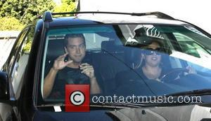 Lance Bass leaving La Conversation restaurant in West Hollywood after having lunch Los Angeles, California - 07.11.08