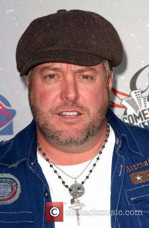 Gary Valentine Comedy Central Roast Of Larry The Cable Guy at the Warner Brother Studio Lot in Burbank. - arrivals...