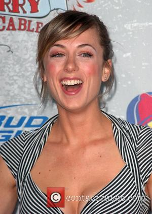 Iliza Shlesinger Comedy Central Roast Of Larry The Cable Guy at the Warner Brother Studio Lot in Burbank. - arrivals...