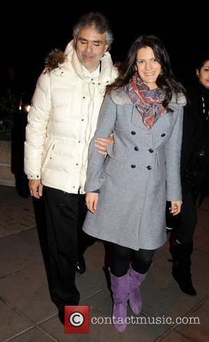 Andrea Bocelli, Veronica Berti and Rte Studios