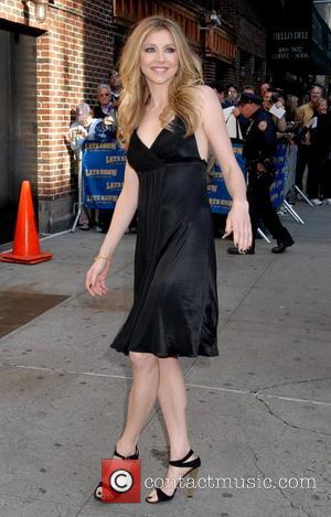 Sarah Chalke outside the Ed Sullivan Theater for the 'Late Show With David Letterman' New York City, USA - 08.10.08