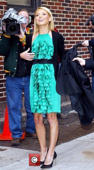 Kelly Ripa and David Letterman