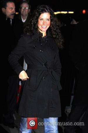 David Letterman, Evangeline Lilly, Ed Sullivan Theatre