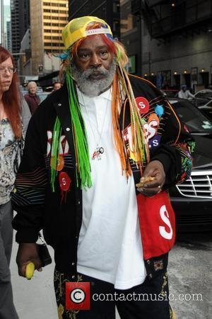 George Clinton and David Letterman