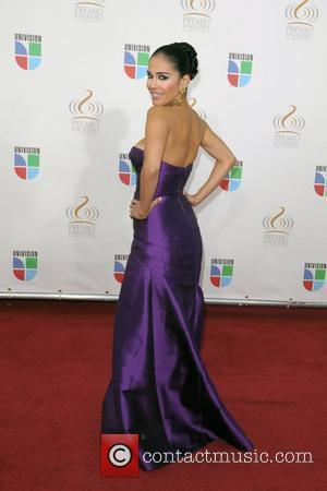 Karla Martinez Univision's Premio Lo Nuestro a La Musica Latina Awards at Bank United Center  Coral Gables, Florida -...