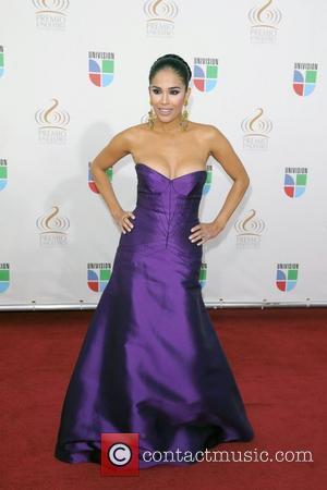 Karla Martinez Univision's Premio Lo Nuestro a La Musica Latina Awards at Bank United Center  Coral Gables, Florida -...