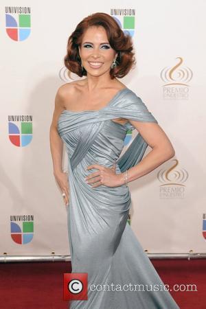 Gloria Trevi Univision's Premio Lo Nuestro a La Musica Latina Awards at Bank United Center Coral Gables, Florida - 26.03.09