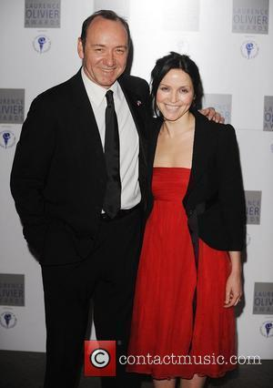 Kevin Spacey, Andrea Corr, Laurence Olivier and Grosvenor House